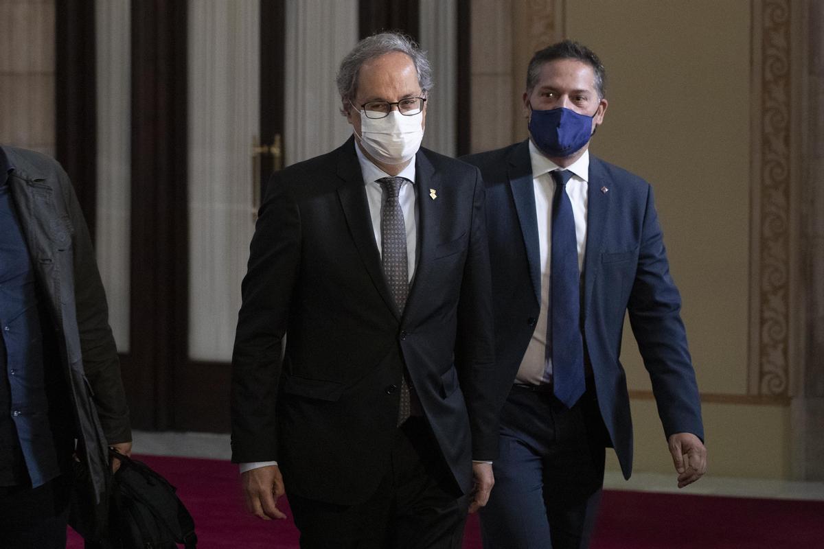 Quim Torra, 'expresident' de la Generalitat.