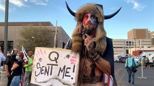 Yellowstone Wolf, miembro del movimiento QAnon que participó en el asalto al Capitolio.