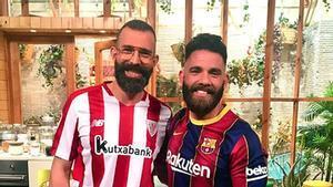 Javi Sierra y Marc Ribas, en especial Copa de 'Cuines'.