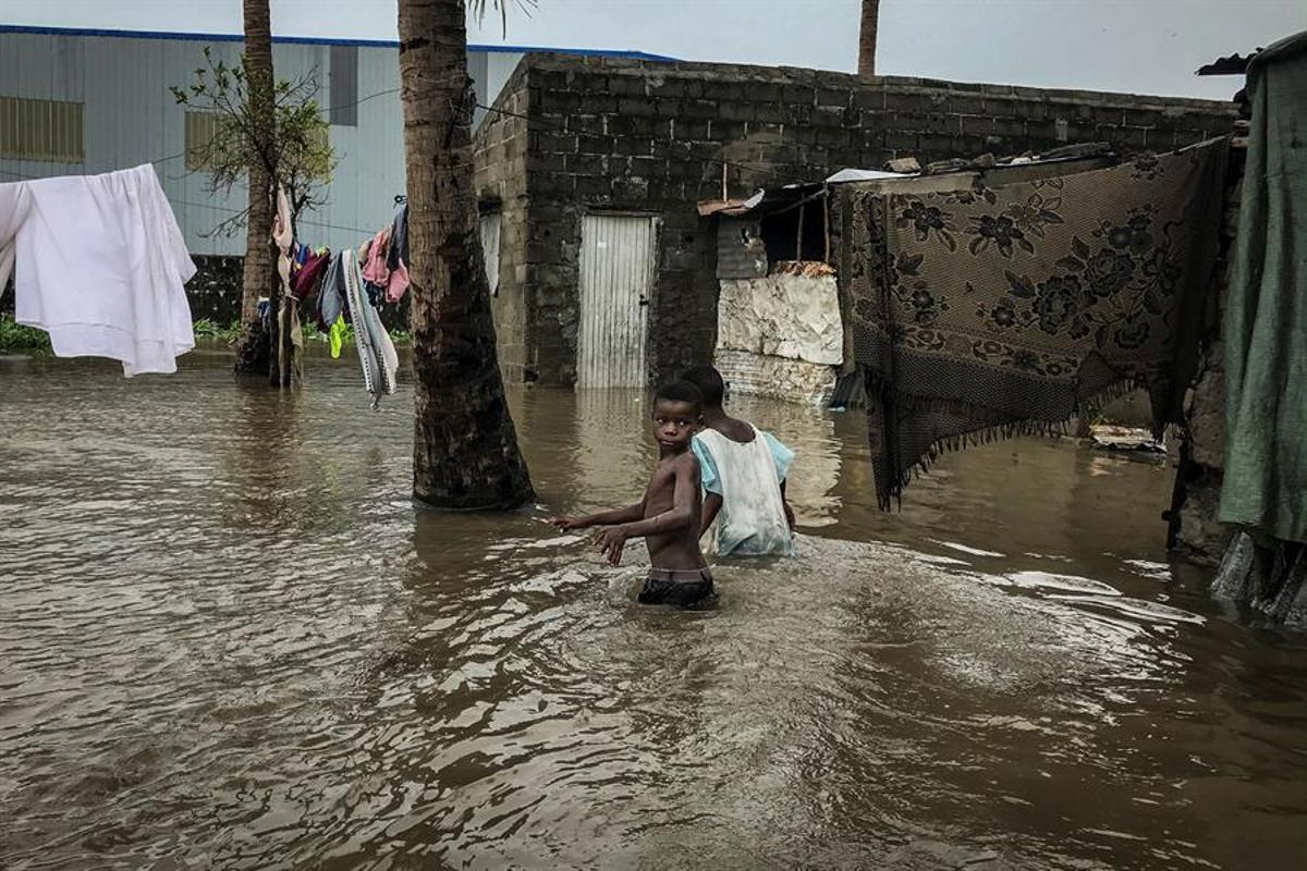 El ciclón Eloise ha causado en los últimos días importantes daños en Mozambique.