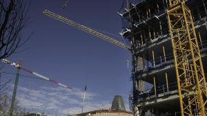 Promociónde viviendas en Barcelona.
