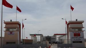 Imagen de archivo del paso fronterizo de Guerguerat.
