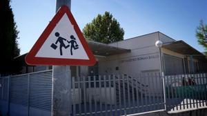 Un colegio de Madrid, cuyas aulas comenzarán a llenarse de alumnos a partir del 4 de septiembre.