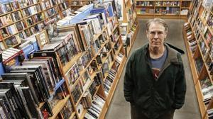 Kim Stanley Robinson, en la librería Gigamesh.