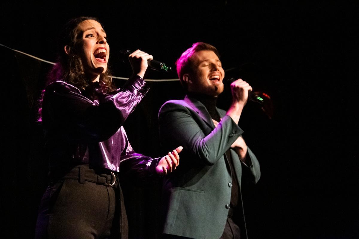 Clara Solé y Adrià Andreu protagonizan este musical de pequeño formato.