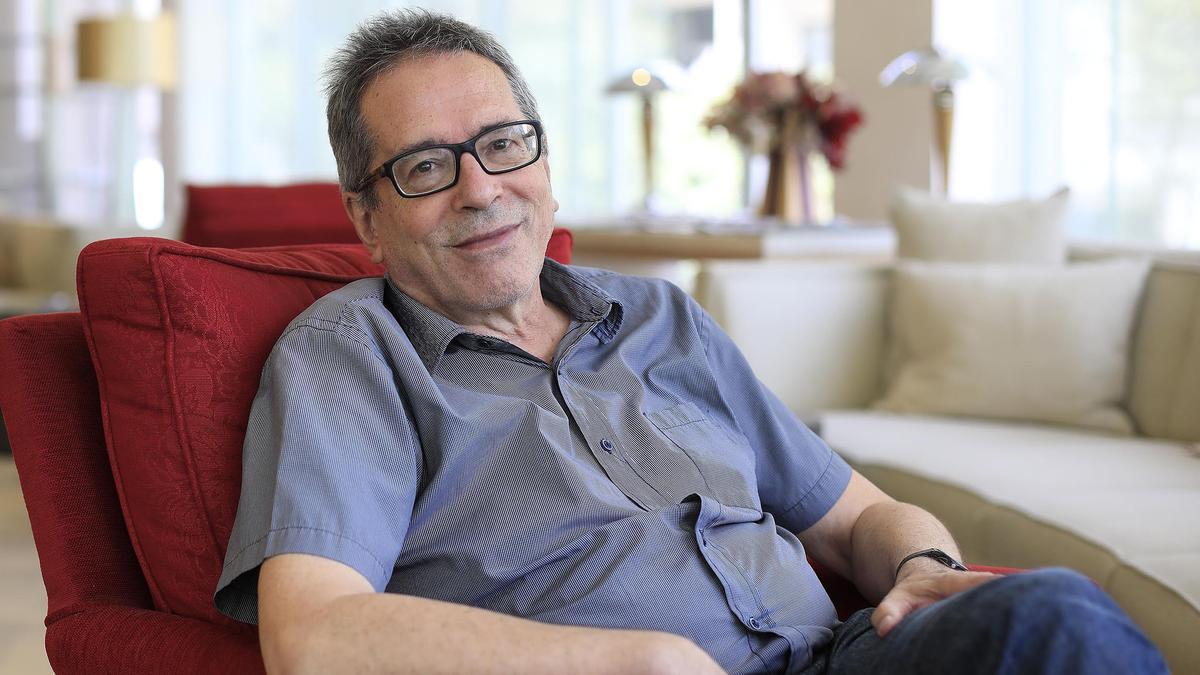 El escritor César Aira.