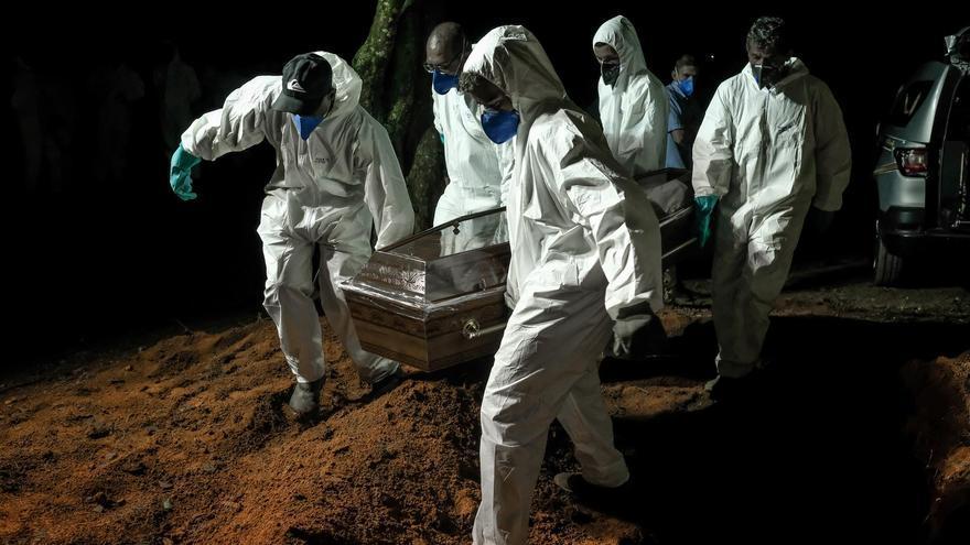 Image Brasil tiene más de 4000 muertos por covid-19 en un solo día
