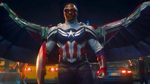 Anthony Mackie como nuevo Capitán América.