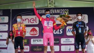Juan Ayuso guanya el 'Baby Giro' com a estrella del futur