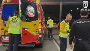 Cuatro heridos, uno de ellos grave, por heridas de arma blanca en una pelea en el distrito de Tetuán (Madrid).