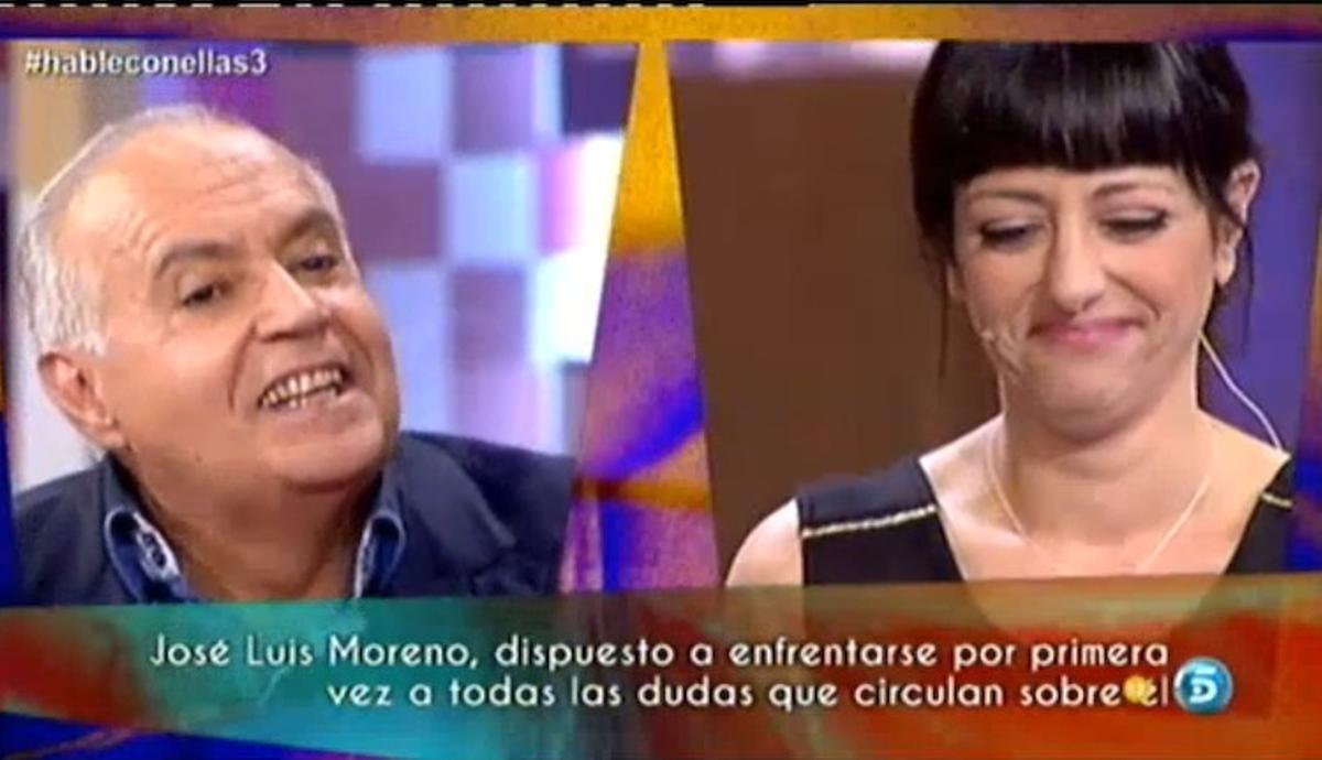 José Luis Moreno y Yolanda Ramos en 'Hable con ellas'