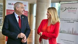 Pere Navarro y Blanca Sorigué.