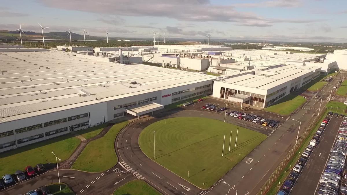 Planta de Nissan en Sunderland