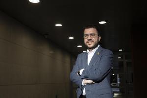 Aragonès tanca files amb Sàmper i demana apartar el debat policial de l'arena política