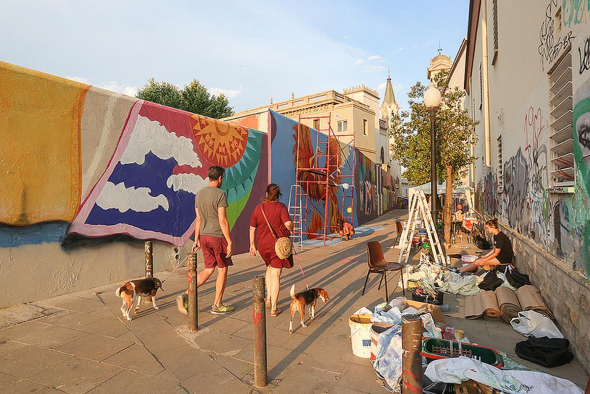 El resultado final del proyecto puede verse en la calle Benito Menni de Sant Boi