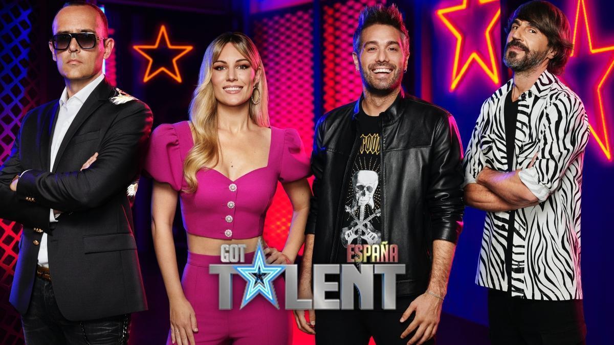 Risto Mejide, Edurne, Dani Martínez y Santi Millán, jurado y presentadores de 'Got Talent España'.