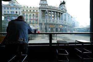 En la imagen un café en el centro de Madrid.