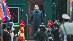 Kim Jong-un ya está en Hanoi para la cumbre con Donald Trump.