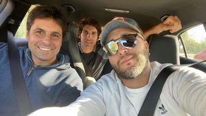 Kiko, Fran y Cayetano Rivera se saltan el confinamiento de Andalucía en su reencuentro