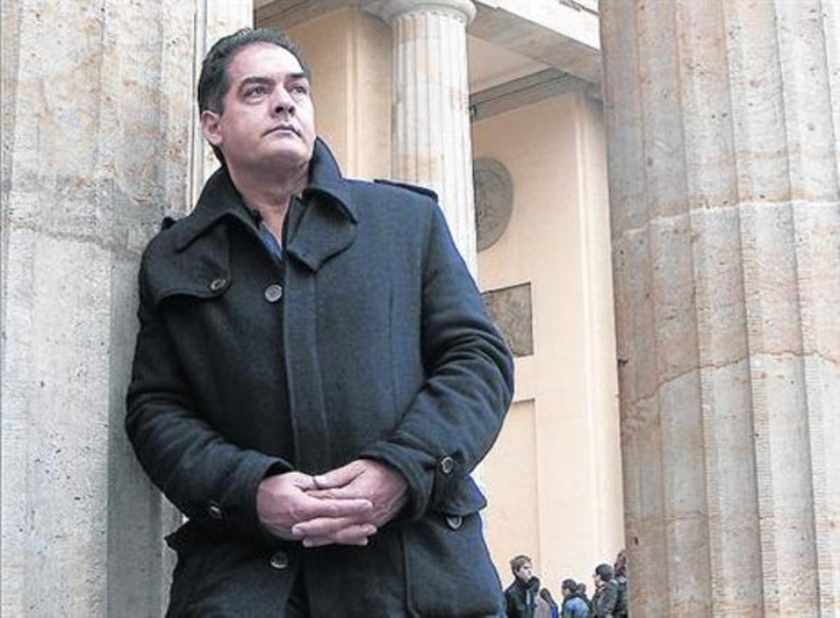 El ausente de BCNegra.Philip Kerr, en Berlín.