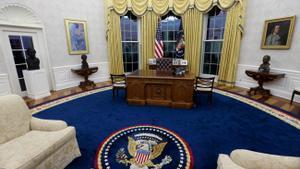 Biden tria símbols antiracistes i sindicalistes per decorar el Despatx Oval