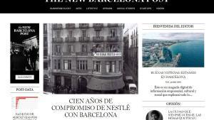 Portada de 'The New Barcelona Post'.