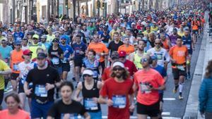 La frustració del corredor popular de maratons