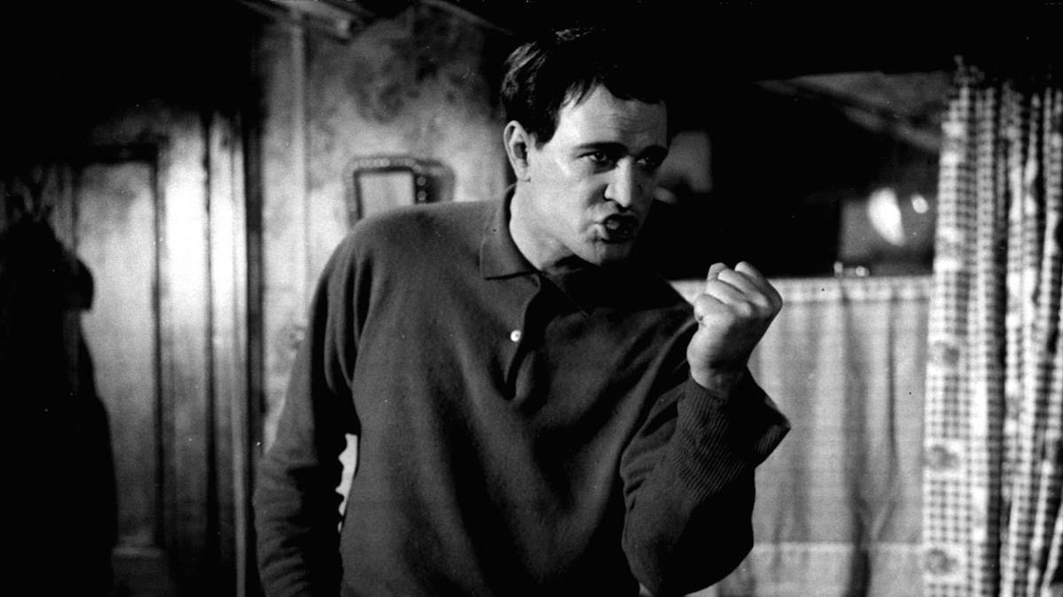 Richard Harrys, en la versión cinematográfica de 'This sporting life'.