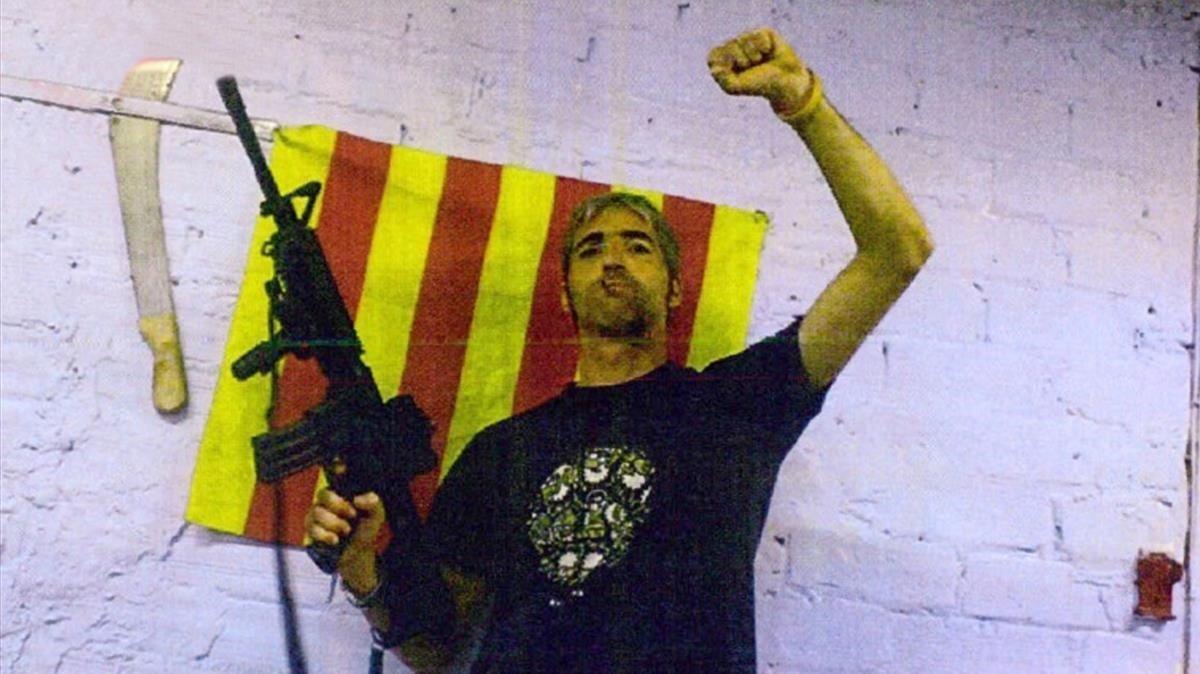 Foto de uno de los miembros de los CDR extraida del Sumario de los CDR.