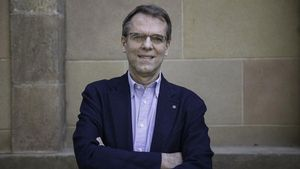 el candidato a rector de la Universitat de Vic (UVic-UCC),Oriol Amat.