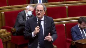 ERC demana unitat davant el Suprem i Torra recupera la seva proposta de referèndum