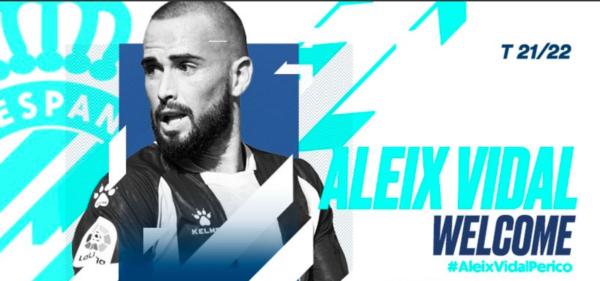 Aleix Vidal, nuevo jugador del Espanyol.