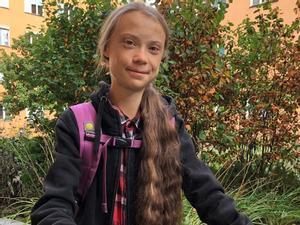 Greta Thunberg torna a les aules després d'un any sabàtic