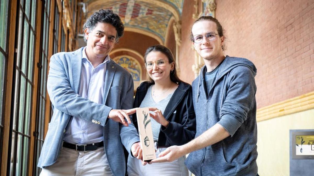El equipo de The Predictive Company, con Alonzo Romero a la izquierda.