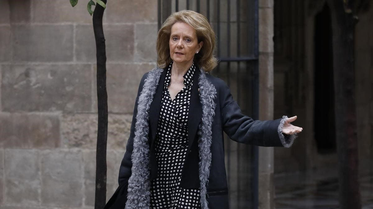 L'exconsellera Vilallonga va patir un microictus després del seu cessament