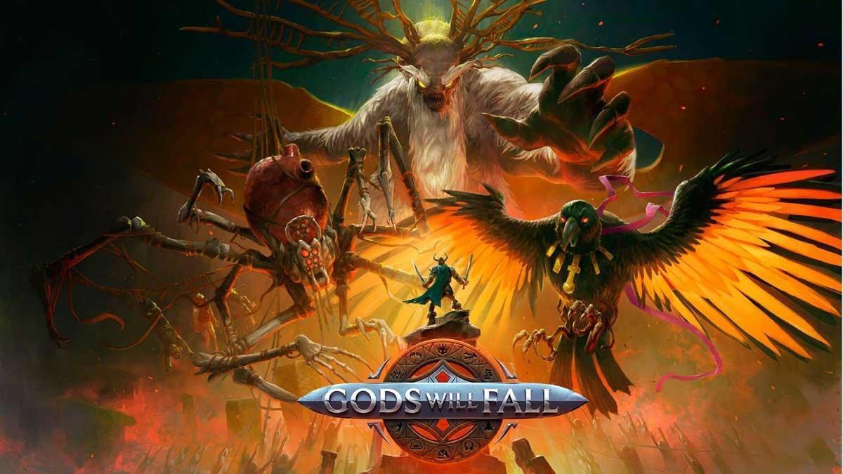 Primeros detalles y vídeo de Gods Will Fall, un sombrío juego de acción y fantasía