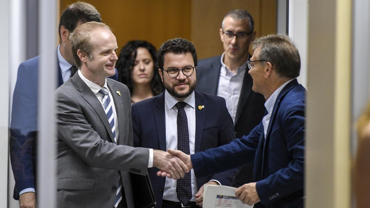 La Generalitat plantará al Gobierno en el Consejo de Política Fiscal y Financiera