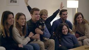Mercedes Milá con Scott y algunos de sus sobrinos en 'Scott y Milá'.