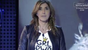 Nueva transición fallida de 'Sálvame': Paz Padilla se equivoca de presentador de 'Informativos Telecinco'