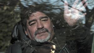 Maradona, en el tramo final de su vida.
