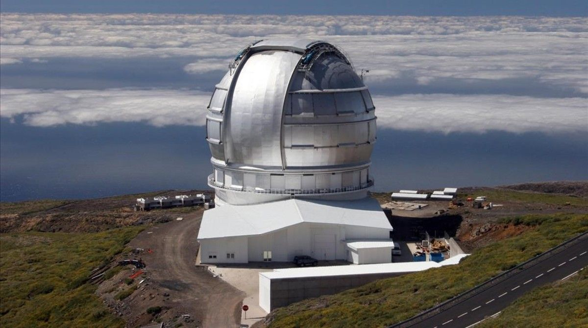 El Gran Telescopio Canarias, en La Palma.