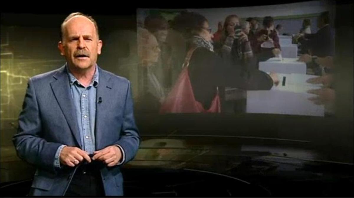 Eduard Sanjuán, director del espacio de reportajes '30 minuts' de TV-3.