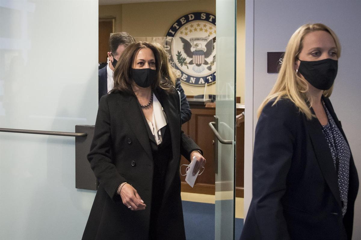 Harris elige a su equipo de Vicepresidencia, formado al completo por mujeres