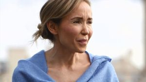 Angela Dobrowolski, la mujer de Mainat.