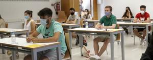 Més del 94% dels estudiants presentats superen les proves d'accés a la universitat