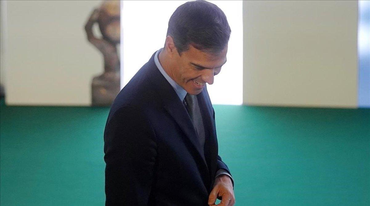 Pedro Sánchez preside la entrega de los premios Cepyme.