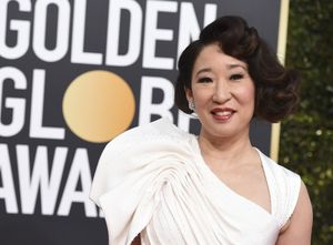 Sandra Oh arrives at the 76th annual Golden Globe Awards at the Beverly Hilton Hotel on SundayJan62019in Beverly HillsCalifPhoto by Jordan Strauss Invision AP