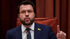 Junqueras ungeix Aragonès com a candidat d'ERC a la Generalitat