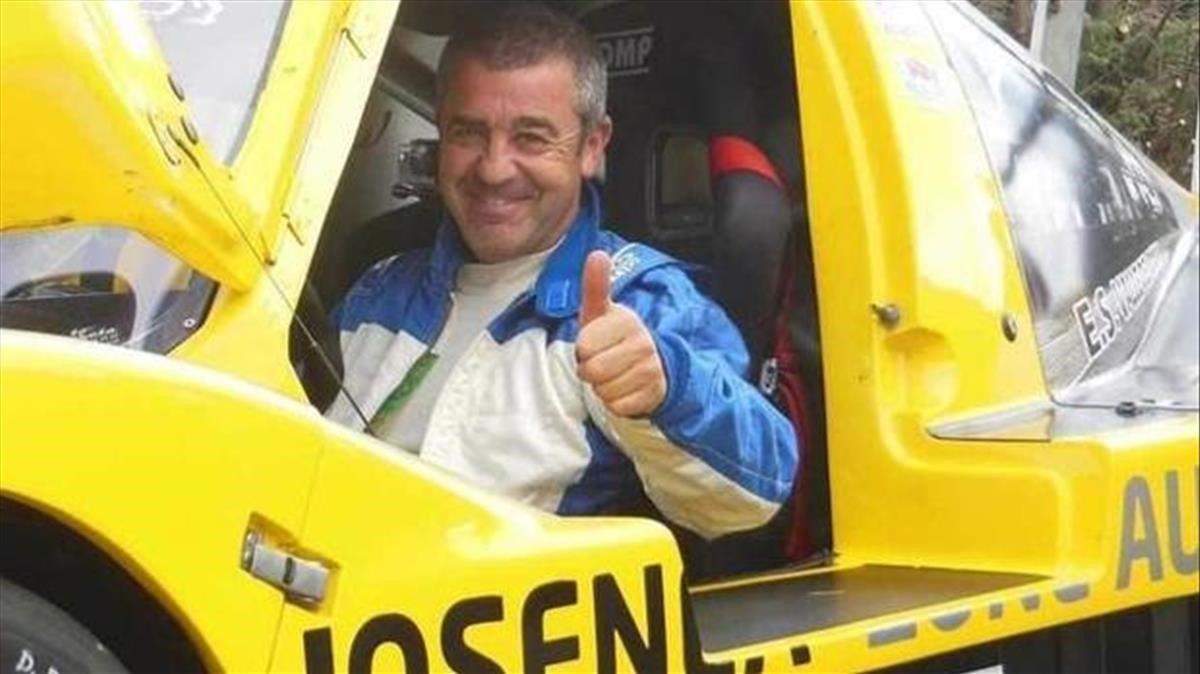 El piloto navarro de rallys Iñaki Irigoyen.