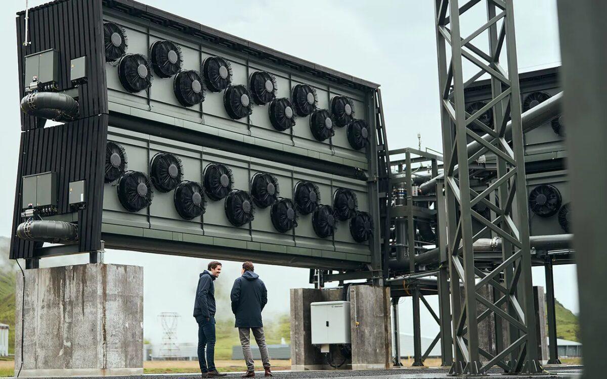 Nuevo paso adelante en la captura directa de CO2 del aire